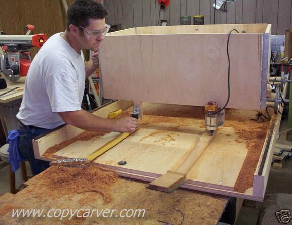 How Does The Wood Carving Duplicator Carve Objects In Wood