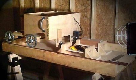 build wood carving duplicator
